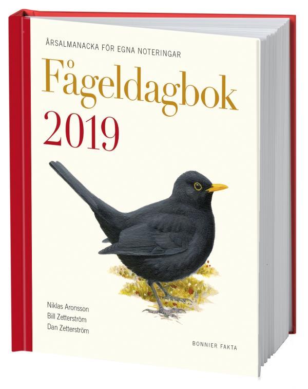 Fågeldagbok 2019 - Årsalmanacka För Egna Noteringar