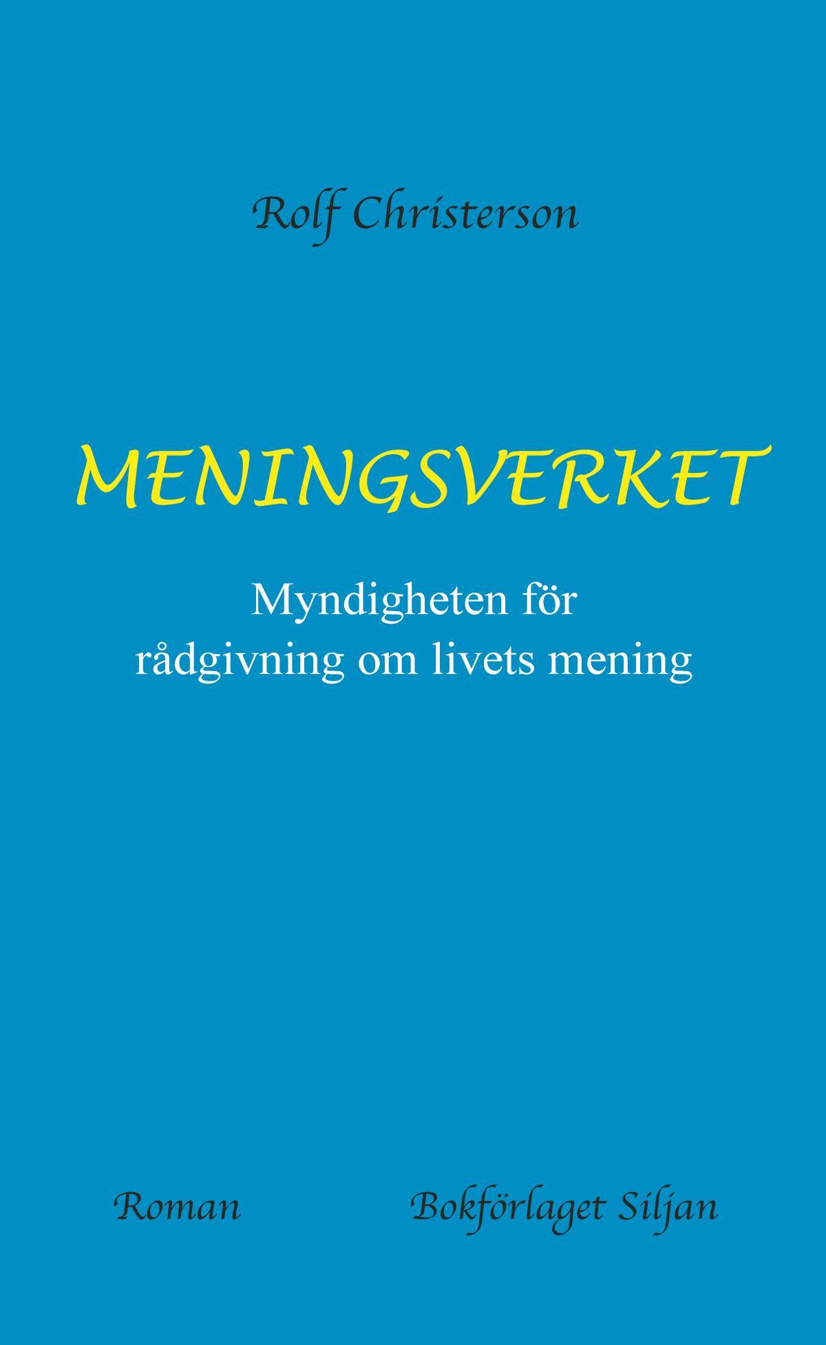 Meningsverket - Myndighetern För Rådgivning Om Livets Mening