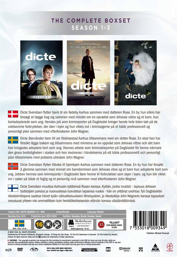 Dicte Säsong 1 3 (9 DVD) film Ginza.se