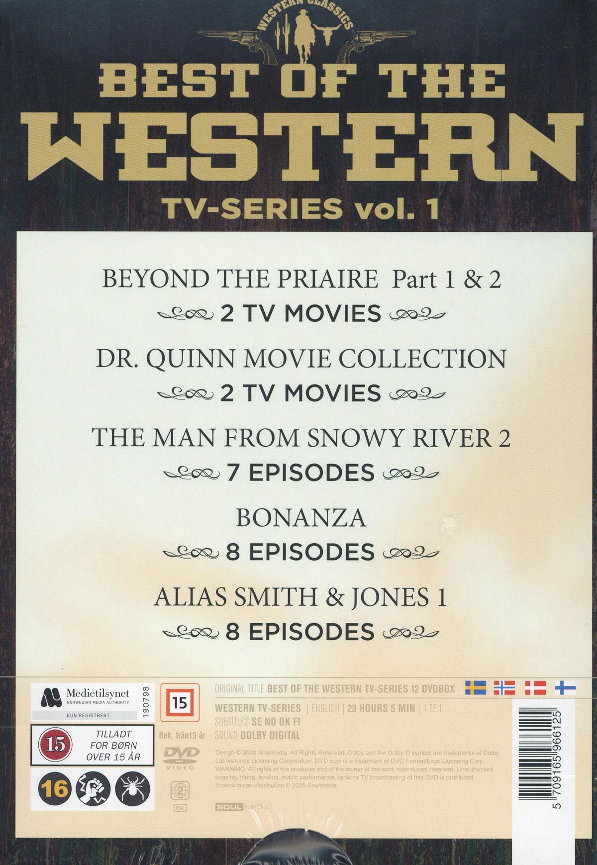 Best of western - TV-series vol 1