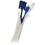 LogiLink: Kabelgömma FlexWrap 1,8m Grå