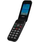 """Denver: GSM-telefon Flip 2,4"""" skärm"""