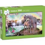 Kärnan: Pappussel Unicorns 200 bitar