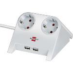 Brennenstuhl: DesktopPower USB-charger 2v Vi