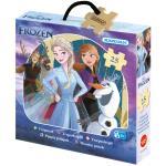 Kärnan: Askpussel trä Disney Frozen II