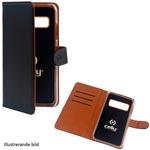 Celly: Wallet Case Galaxy A51 Svart