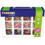 Playbox: Pärlset 12 Färger Pastell Randig 8000 Rörpär.