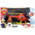 Brandman Sam: Sam Helicopter Wallaby incl. Figure