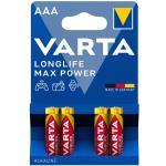Varta: Longlife Max Power AAA / LR03 Batteri 4-pack