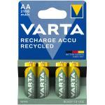 Varta: Recycle Laddningsbart batteri AA 2100 mAh 4-p