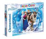104 pcs. Puzzles Kids SuperColors FROZEN