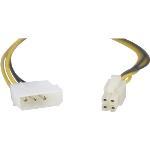 Adapter 4-pin till ATX12V (P4), 30cm