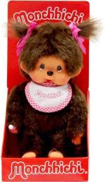 Monchhichi Classic Girl Pink 20 cm