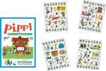 Pippi Stickers Villa Villekulla w. 140 sticker