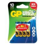 Batteri GP Ultra Plus, Size AAA, LR6, 1.5v (4p)
