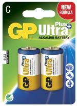 Batteri GP Ultra Plus, Size C, LR14, 1.5v (2p)