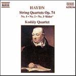 String Quartets Op 74 1-3
