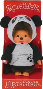 Monchhichi Hooded Panda Boy 20 cm