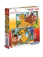 2x60 pcs. Puzzles Kids Special Collection Lion King
