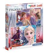 2x60 Puzzles Kids Frozen 2