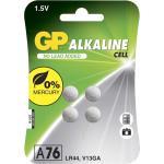 GP Batteries Alkaline Cell A76/LR44, 1,5V, 4-pack /103183