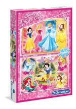 2x60 pcs. Puzzles Kids Special Collection Princess