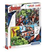 2x60 Puzzles Kids Avengers