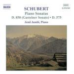 Piano Sonatas D 850 & D 575