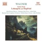 Scener ur Lohengrin och Siegfried