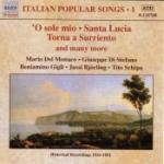 Italienska Populära Sånger (Jussi Björling/m fl)