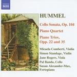 Piano trios / Cello sonata