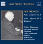 Pianokonsert Nr 4 & 5 (Giesking)