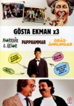 Gösta Ekman x 3