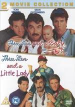 Tre män och en baby 1+2