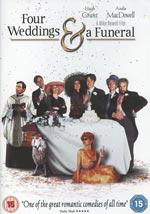 Fyra bröllop och en begravning (Ej svensk text)