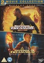 National treasure 1+2 (Ej textad)