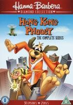 Hong Kong Phooey / Complete series (Ej sv text)