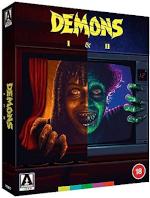 Demons 1+2 - Limited Edition (Ej svensk text)