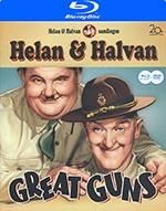 Helan & Halvan / Great guns (Norskt omslag)