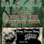 Live On The Foxtrot Tour...
