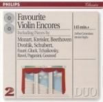 Violin encores (A Grumiaux)