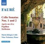 Cello Sonatas Nos 1 & 2 (Kliegel/Tichman)