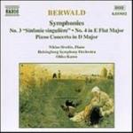 Symfonier 3 & 4/Pianokonsert