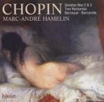 Piano sonatas Nos 2 & 3 (M-A Hamelin)