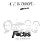 Live In Europe (Ltd)