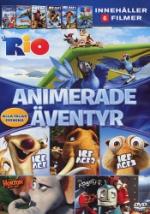 Animerade äventyr (Rio/Ice age 1-3/Horton/Robot)