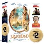 Nim och den hemliga ön + 2 Bonusfilmer / Box