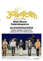 Galenskaparna  After Shave - 30-årsfesten / Scen