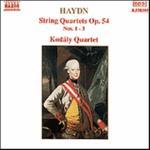 String Quartets Op 54 1-3