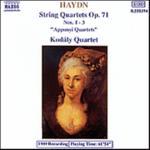 String Quartets Op 71 1-3